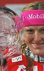 Aare (SWE), Janica with third Big Crystal Globe of her career for season 2005/06, 18.03.2006.