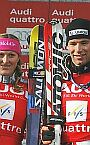 Aare (SWE) J. Kosteli� and B. Raich - Big Crystal Globe winners 2005/06, 18.03.2006.
