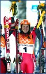 Salt Lake City / Golden medal / Combination / Podium, 14.02.2002.