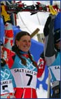 Salt Lake City / Golden medal / Slalom / Podium, 20.02.2002.